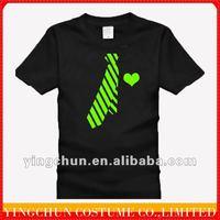 cotton custom couple family Noctilucent fluorescent t shirt