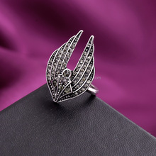 2015 Wholesale New Fashion Unique Design Diamond Men Gay Ring