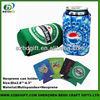 Neoprene collapsible can holder beer cooler cover