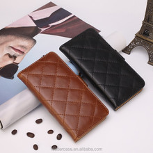 High-quality hot sell mobile phone PU leather flip cover stand case for iPhone 6