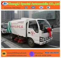 Mini street sweeper cart Truck, Airport Sweeper Truck 3-5cbm for Sale! Street Sweeper Truck