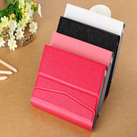 high quality universal fashion folding hook Tablet pc 7 inch leather case