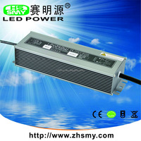 200w 300w IP67 waterproof electronic constant voltage led driver 12v 24v converter
