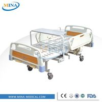 MINA-MB2312 hospital bed 2 crank used nursing home beds furniture