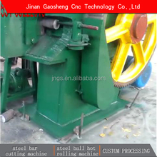 GS simple mechanism steel rod cutting machine