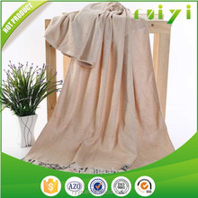 Jacquard Plain Dyed Bamboo Fabric Towel