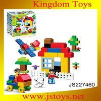 hot sale plastic flower building block for wholesale