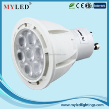 Inner Aluminum Hot Sale GU10 LED SMD Spotlight 5W 7W Cixi Experienced Manufacturer