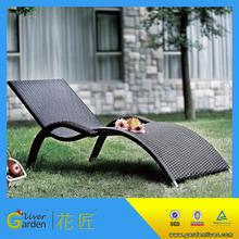 promotion make sun lounger cheap sun loungers waterproof rattan garden chair