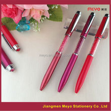 Business gift crystal pen, crystal pen for business man,bright stylus crystal pen