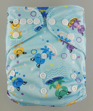 Antibacterial New Designer All In One Kids Nappies