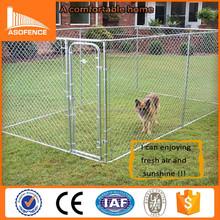 Heavy duty galvanized metal dog kennels / chain link Portable Dog Kennels