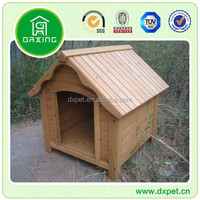 DXDH010 Outdoor Waterproof Wooden Dog Kennel Wholesale