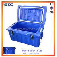rotational molded insulated ice cooler box supplier with high quality ice chest