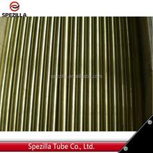 ASTM B111 C70600 Seamless Copper Nickel tube for heat exchanger