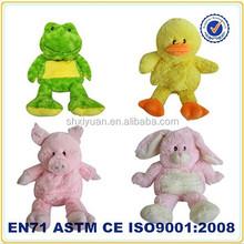 lavender animal toys/microwave heat plush/microwavable plush toy