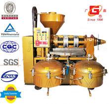 Convenient peanut oil cold and heat screw squeeze medium oil produce machine with filter