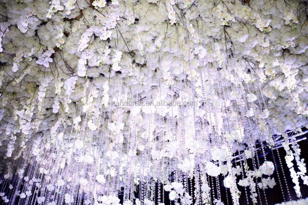 Finished white hydrangea and rose flower wall for wedding buy rose 20151013210925g mightylinksfo