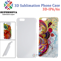 Alibaba Express Sublimation mobile Phone Case, 3D Matte/Glossy Smart Phone Cover for iPhone 6S, 4.7 inch