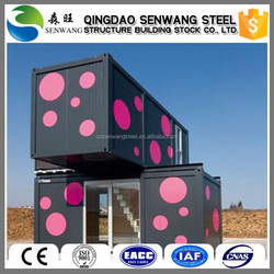 high quality environmental two-story colorful 40ft/20ft container house