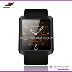 [somostel] u10 smart watch,china cheap touch screen waterproof android smart watch phone with wrist watch phone