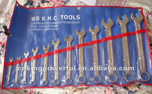 12PCS COMBINATION WRENCH SET /DOUBLE OPEN /DOUBLE RING WRNECH SET