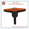 china factory custom plastic pull flexible black ABS/PP plastic handle