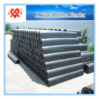Made In China High Performance Dock or Ship Anticollision Rubber of D Type Fender