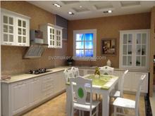 customizd white pvc foam sheet for kitchen cabinet