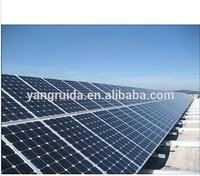 Polycrystalline Solar panel in energy