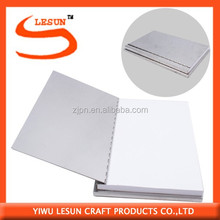 2014 Fashion Metal Cover Spiral Notebook With Pen
