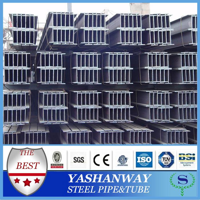 Ysw60-275g溶融亜鉛めっき鋼h梁の重み建設のための
