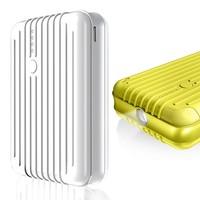 Dual usb port kinetic 12000mah powerbank luggage shape