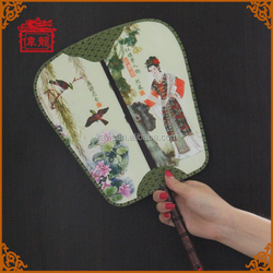 Hot Sale Import China Personalized Silk Hand Fan for dance TS101-2