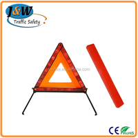Hot Sale Collapsible Red LED Flashing Warning Triangle Distance From Car Manufacturer