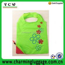 green strawberry reusable storage eco friendly shopping bag