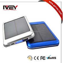 6000mAh USB Solar Power Bnak Panel External Mobile Battery Charger For Tablet Phone
