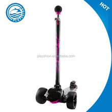 Push scooters with big wheels tri scooters for adults