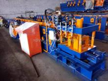 C steel roof purlins/Steel Purlin machine metal stud and track roll forming machine