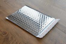 2015 Farmax silver metallic aluminum foil mailing envelopes