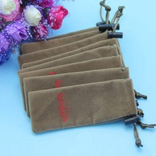 Cheap Brown Hanging Cell Phone Pouch Dice Bag