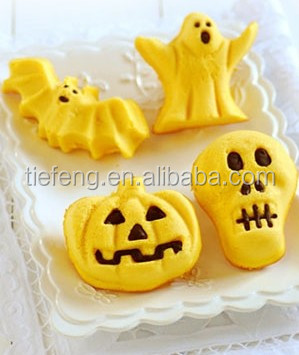 silicone molds for ghost pumpkin Halloween