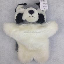 Plush animal hand puppet/Raccoon hand puppet