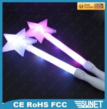wedding decoration personalized led stick purple