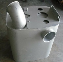 sinotruk howo truck engine parts Muffler