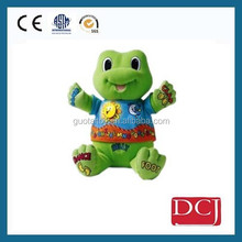 Custom cute hot sale green sea turtle plush toy