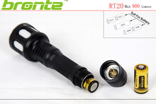 Bronte 920 Lumen Green/Red/White cree led flashlight for rifle hunting