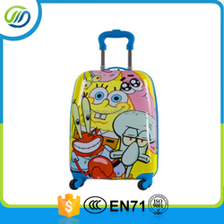 Outdoor travelling simple light weight abs hard case trolley luggage