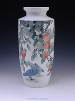 General vase China Famous Master Work Hand Painted Underglazed Porcelain vase ceramic