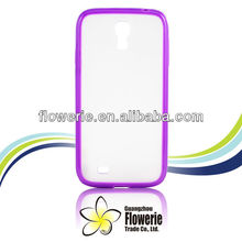 FL2054 2013Guangzhou hotselling tpu bumper with matte pc back cover case for samsung galaxy s4 i9500